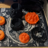 Fantasy skull braziers/torches for tea lights image