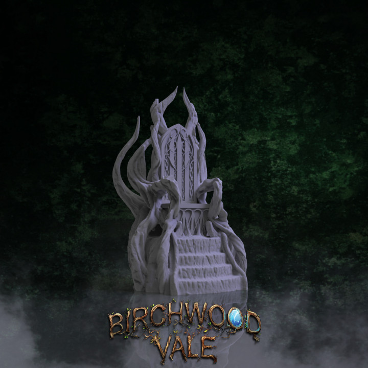 Birchwood Vale Woodland Realm Throne's Cover
