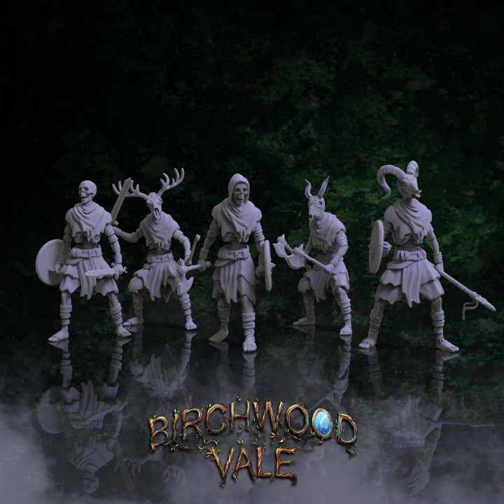 Birchwood Vale Adversaries Modular Skeletons's Cover