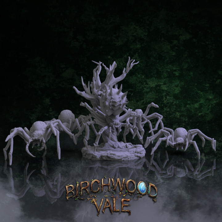 Birchwood Vale Adversaries Spiders's Cover
