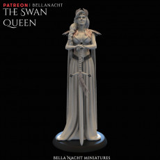 The Swan Queen - 75mm + 140mm