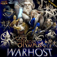 Greek Gods and Heroes of Olympus WARHOST