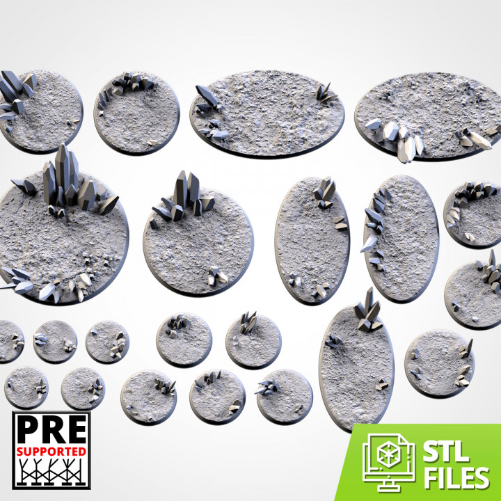 Glass Xenos Bases (Round)'s Cover
