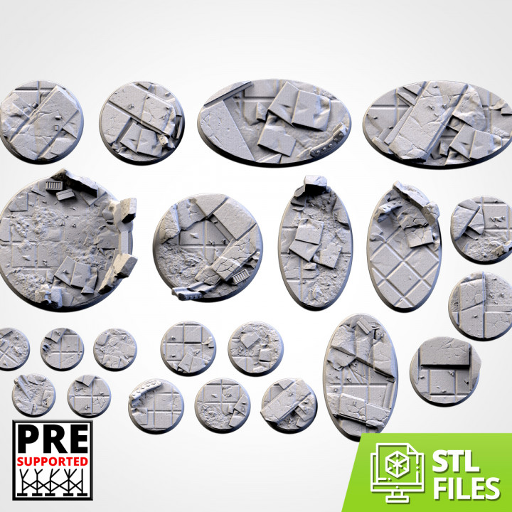 City Ruins Bases (Round)'s Cover