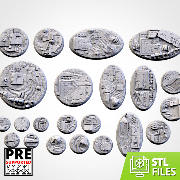 Egyptian Bases (Round)'s Cover