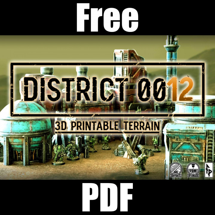 FREE PDF for District 0012's Cover