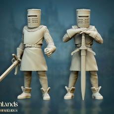 Black Knight from Monty Python - Highlands Miniatures