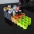Ultimate honeycomb AA battery organizer image