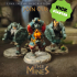 Dwarf with hammer tabletop miniature image