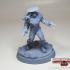 Zurea Warrior game mini from War Of The Ravaged image