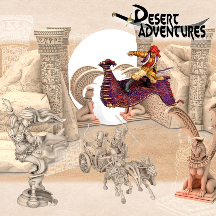Desert Adventures Add-On's Cover