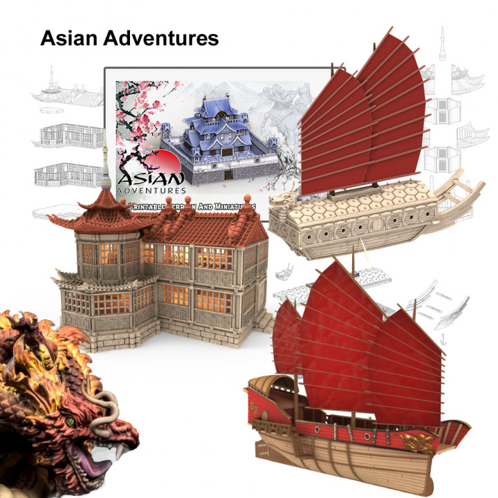 Asian Adventures Add-On's Cover