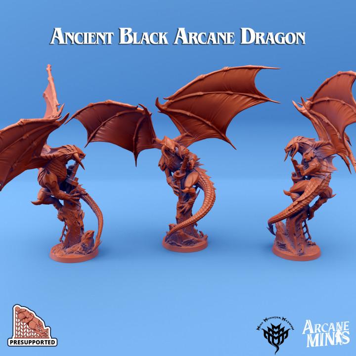 Ancient Black Arcane Dragon's Cover