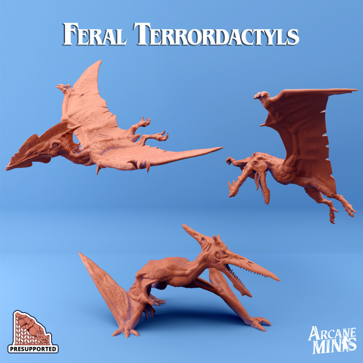 Feral Terrordactyls's Cover