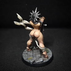 Picture of print of Solaria - Requiem Brotherhood Beauty (Fantasy Pinup)