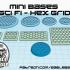 Mini Bases - Sci Fi Hex Grid image