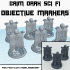 Objective Markers - Numbered Banners image