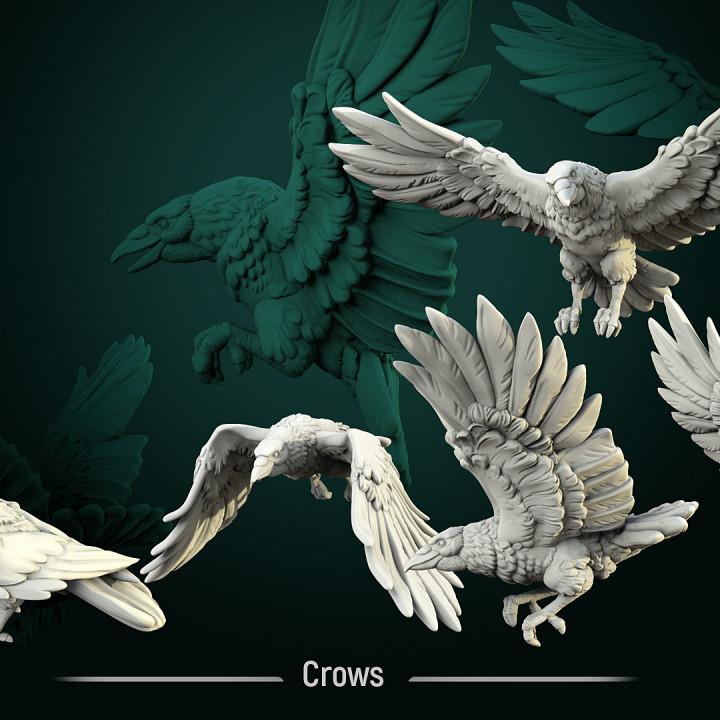 Figurines alternatives en 3D pour ME SBG: liste créateurs 720X720-crows-1