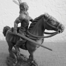 Native American Western Rider