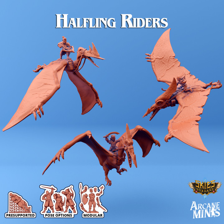 Halfling Terrordactyl Riders's Cover