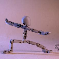 Stopmotion Armature - 15cm Basic Model_V01