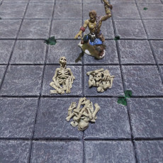 Picture of print of Skeleton Set !SUPPORTED! !FREE!