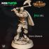 """KICKSTARTER FREE ''VIking Warrior"""" Presupported 3D Model image"""