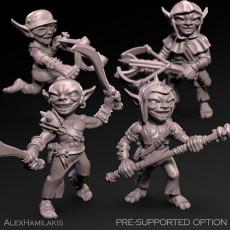 Goblin squad 32mm scale