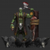 A collection of orcs in the style of realism 1.0 image