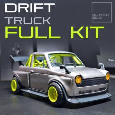 JDM DRIFT TRUCK FULL MODELKIT 1-24 FULL KIT
