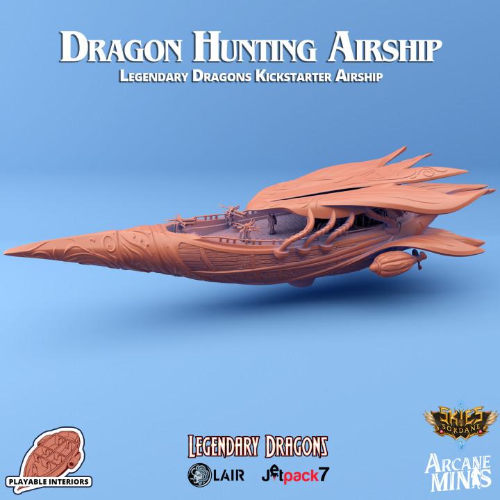 Dragon Hunting Airship's Cover