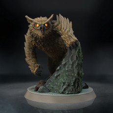 Owl Beast (Pre-Supported)