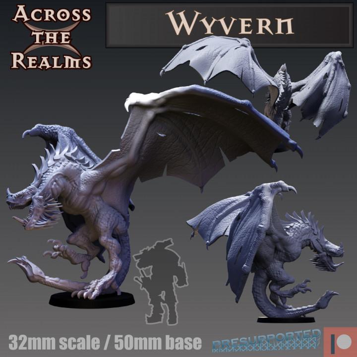 3D Printable Armored wyvern by Herospawnspot