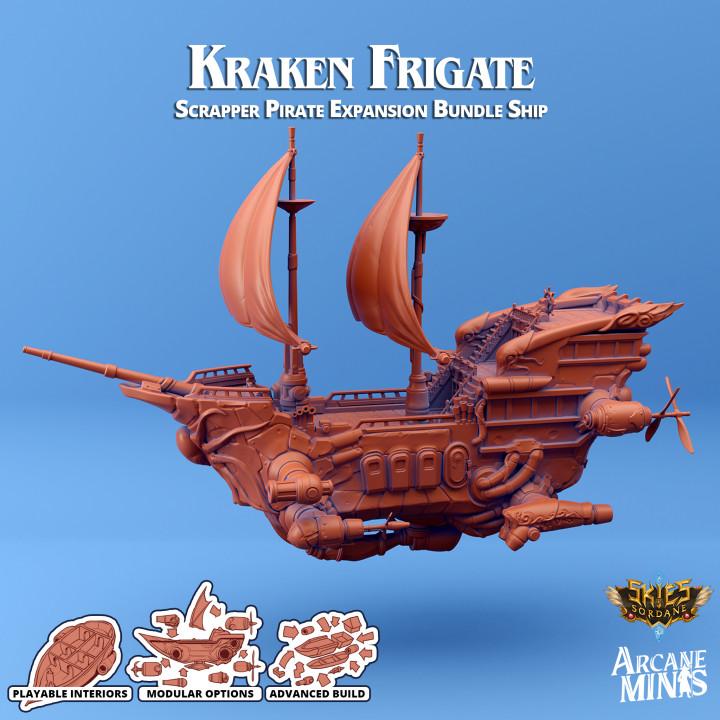 Airship - Kraken Class Frigate's Cover