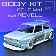 GOLF 1 BODYKIT FOR REVELL 1/24