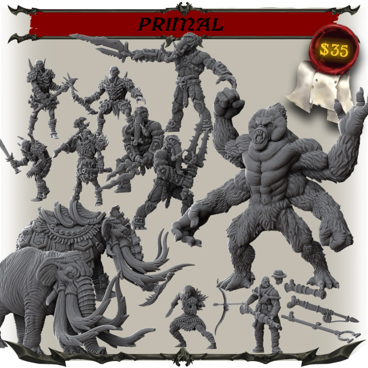 Primal - New Add-On's Cover