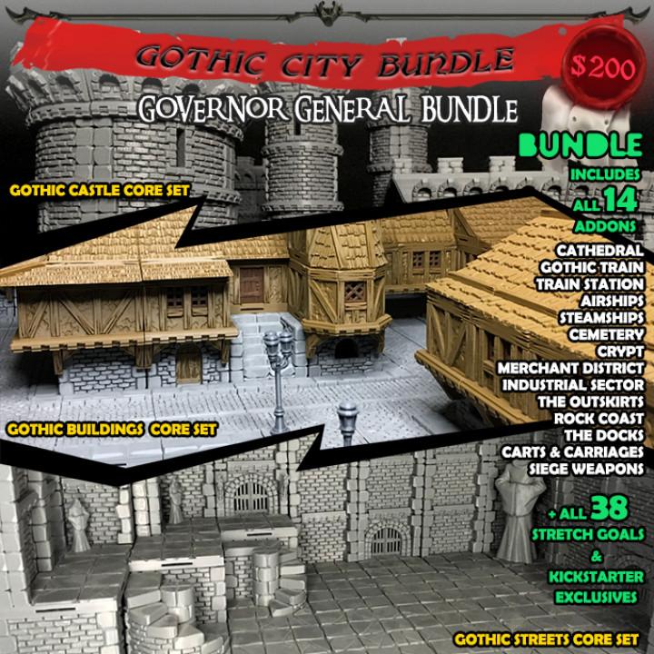 Gothic City Bundle's Cover