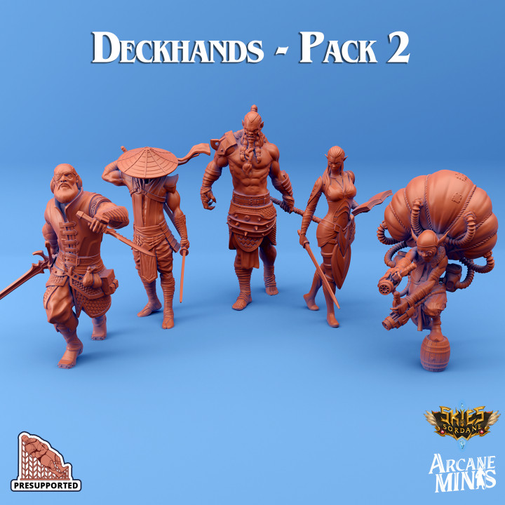 Deckhands - Pack 2's Cover