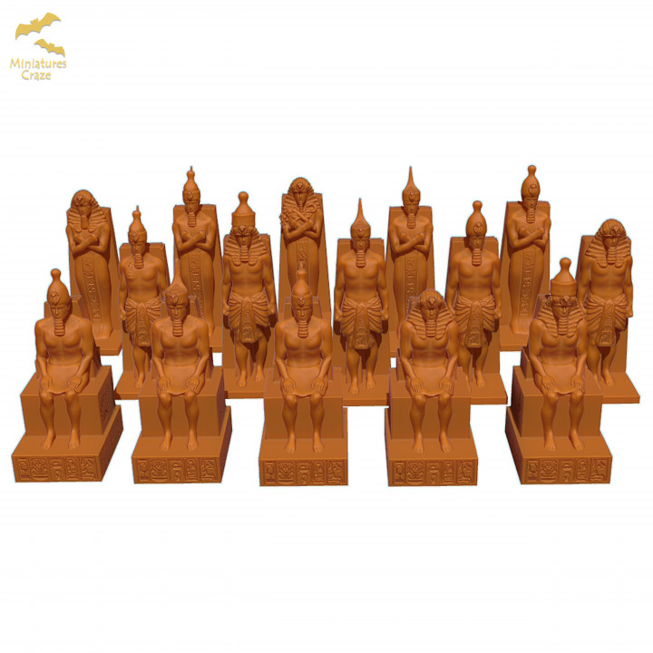 Statues Pack - Egypt's Cover