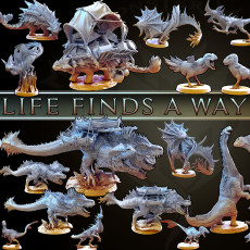 Life Finds a Way (MiniMonsterMayhem Release)