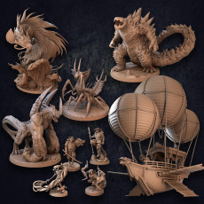 Kaiju Invasion - Presupported