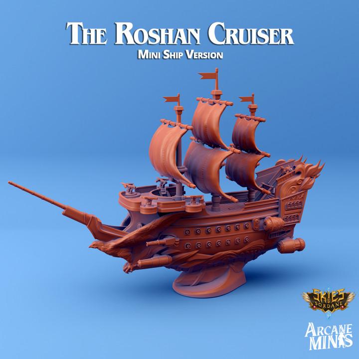 The Roshan Cruiser - Mini Ship's Cover