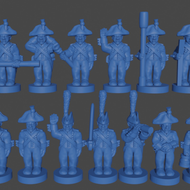 6-15mm French Foot Artillery Crew (1805)'s Cover
