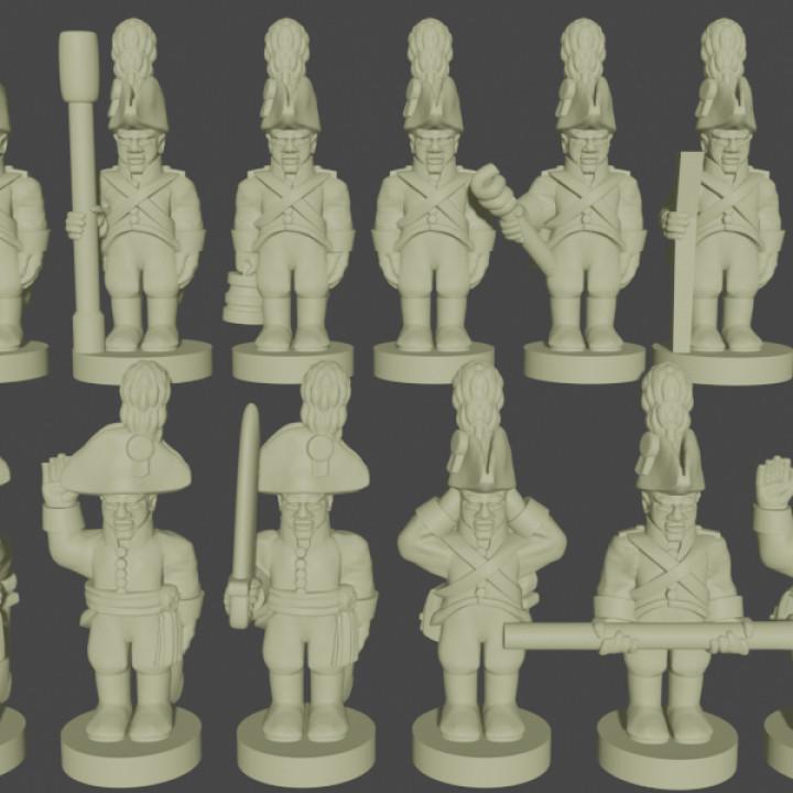 6-15mm Austrian Foot Artillery Crew (1798-1815)'s Cover
