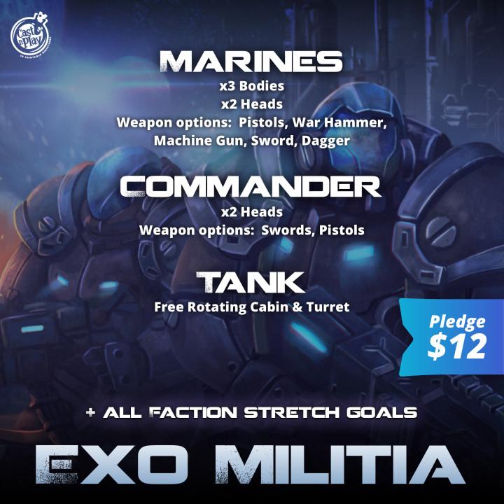 Exo Militia's Cover