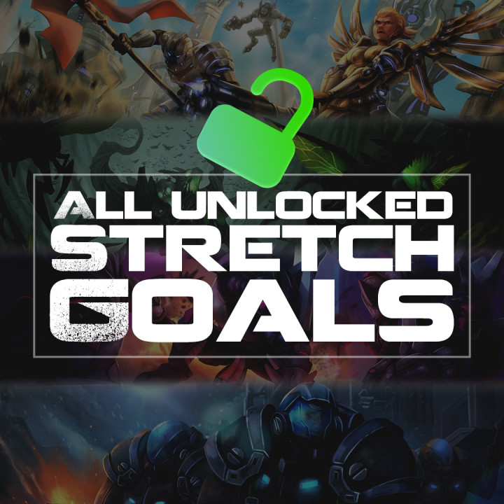 All Unlocked Stretch Goals's Cover