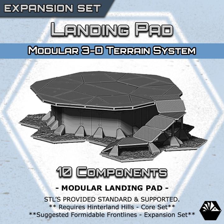 Hexhog Tabletops: Landing Pad's Cover