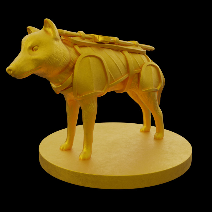 3D Printable Wyvern by Nikola Radovic
