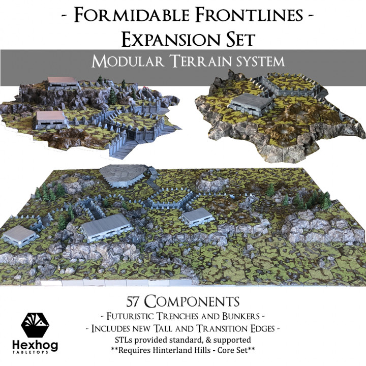 Formidable Fronts Expansion Set's Cover
