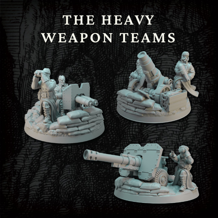 The Altirvun Core Set - Heavy Weapons Team's Cover